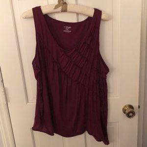 Size 26/28 Purple Asymmetric Lane Bryant Cami